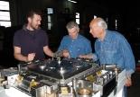 Three toolmakers and one die