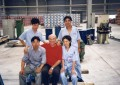 Mr. Frigeri at  Client's Shangai plant. July 1997